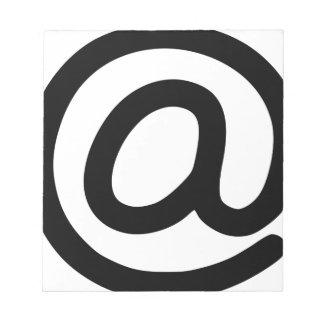 Bloco De Notas No símbolo