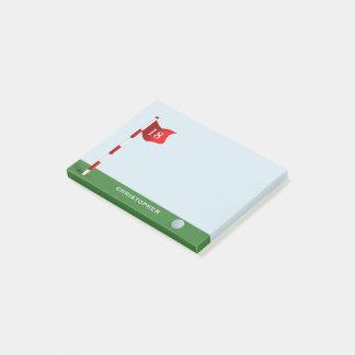 Bloco De Notas Nota personalizada do Cargo-it® do verde de