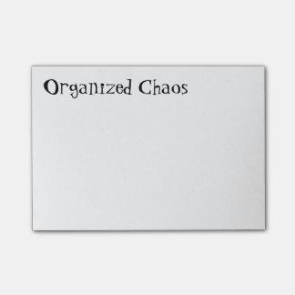 """Bloco De Notas """"Notas de post-it do caos organizado"""""""