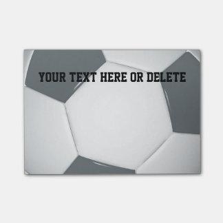 Bloco De Notas Notas do futebol do futebol | de Personalizable