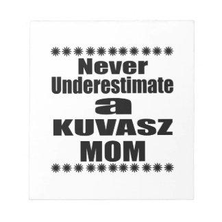 Bloco De Notas Nunca subestime a mamã de KUVASZ