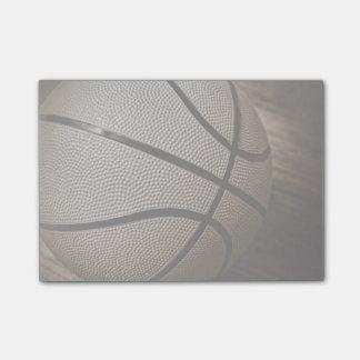 Bloco De Notas O Sepia tonificou o basquetebol