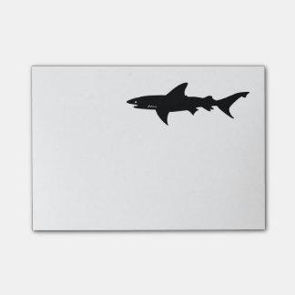 Bloco De Notas O tubarão Beware da tiragem dos tubarões