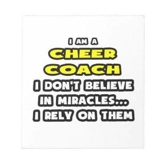 Bloco De Notas Os milagre e o elogio treinam… engraçado
