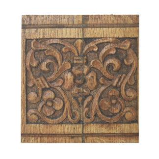 Bloco De Notas painel de madeira