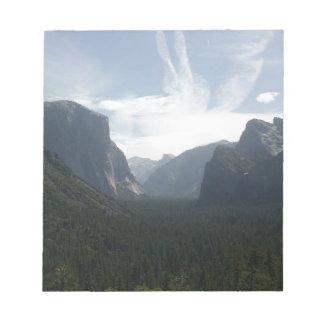 Bloco De Notas Parque nacional de Yosemite