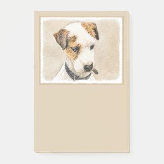 Bloco De Notas Parson Jack Russell Terrier