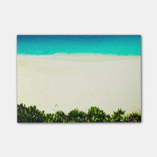 Bloco De Notas Praia tropical colorida