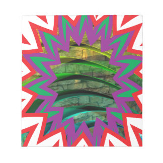 Bloco De Notas Presente colorido feliz do design gráfico da