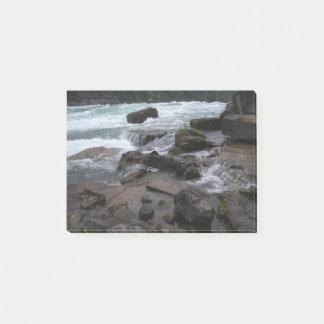 Bloco De Notas Rapids rochosos em notas de post-it de Niagara