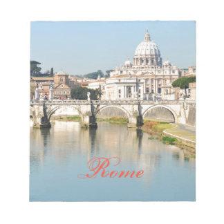 Bloco De Notas Roma, Italia