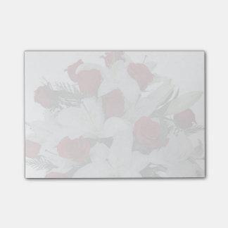 Bloco De Notas Rosas vermelhas
