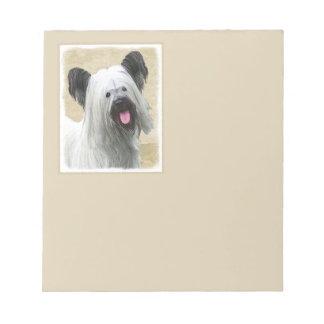 Bloco De Notas Skye Terrier