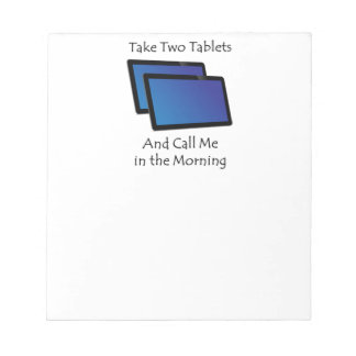 Bloco De Notas Tabuletas do computador - tome dois