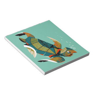 Bloco De Notas Tartaruga de mar australiana animador