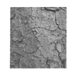 Bloco De Notas Textura de madeira