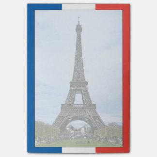 Bloco De Notas Torre Eiffel, Paris, France