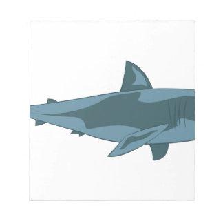 Bloco De Notas Tubarão