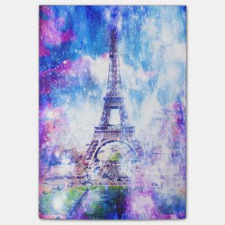 Bloco De Notas Universo Paris do arco-íris