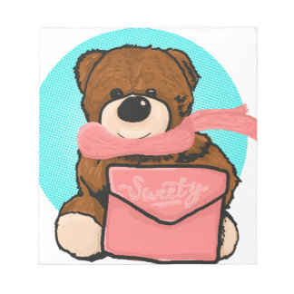 Bloco De Notas Urso do Sweety