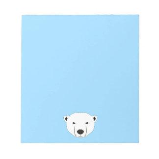 Bloco De Notas Urso polar