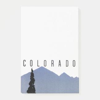 Bloco De Notas Viagem da estrada de ferro de Denver Colorado do