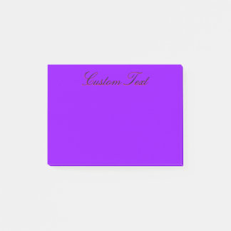 Bloco De Notas Violeta profunda simples