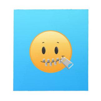 Bloco De Notas Zipper Emoji