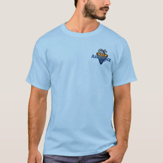 Bloco do RATO de Az Camiseta