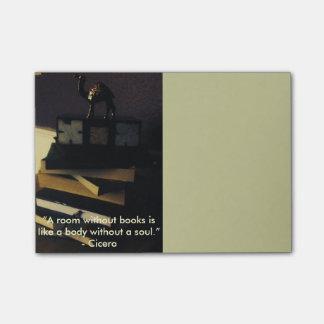 Bloco Post-it Amante de livro