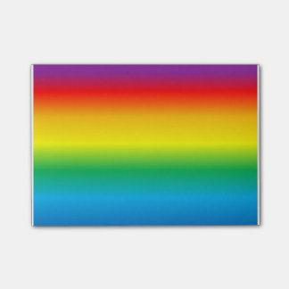 Bloco Post-it arco-íris