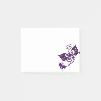 Bloco Post-it Asas da borboleta