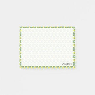 Bloco Post-it Bandeira de Brasil Emojis