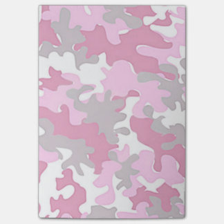 Bloco Post-it Camo cor-de-rosa