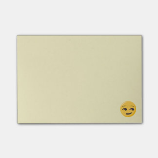 Bloco Post-it Cara Smirking