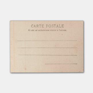 Bloco Post-it Cartão de Paris por volta de 1905 do Tracadero
