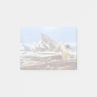 Bloco Post-it CASPAR DAVID FRIEDRICH - o mar do gelo 1824