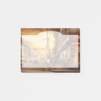 Bloco Post-it Cidade - Amsterdão NY - a cidade perdida 1941
