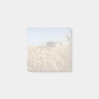 Bloco Post-it Colheita do trigo de primavera