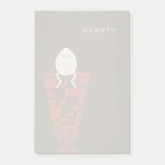 Bloco Post-it Contos de fadas minimalistas | Humpty Dumpty