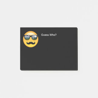 Bloco Post-it Emoji ID230 obscuro super