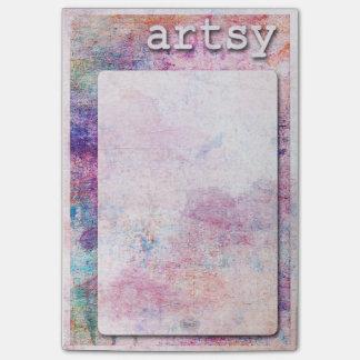 Bloco Post-it Escritório - artística