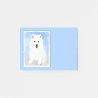 Bloco Post-it Filhote de cachorro do Samoyed