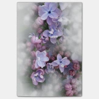 Bloco Post-it Florescência do Lilac