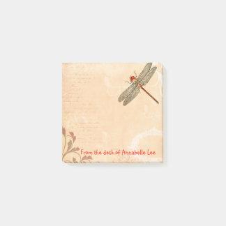Bloco Post-it Folhos da libélula