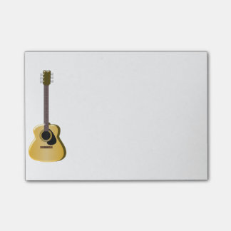 Bloco Post-it Guitarra acústica