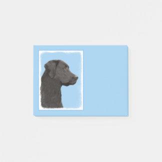 Bloco Post-it Labrador retriever (preto)