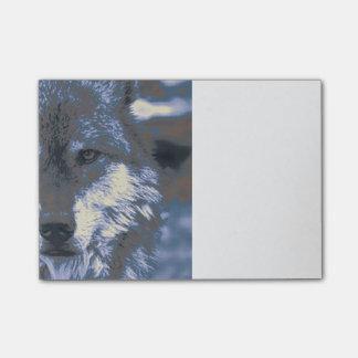 Bloco Post-it Lobo, azul