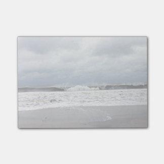 Bloco Post-it Mares tormentosos do Oceano Atlântico