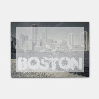 Bloco Post-it Massachusetts, Boston, construções do cais de Rowe